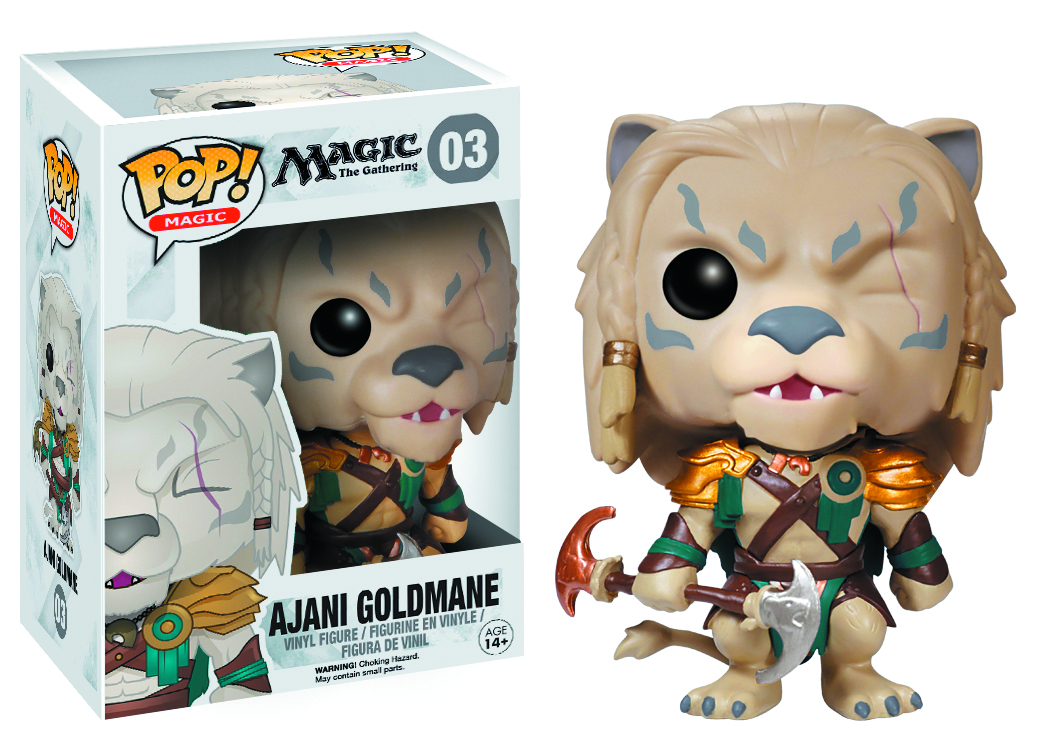 POP MAGIC THE GATHERING AJANI VINYL FIG