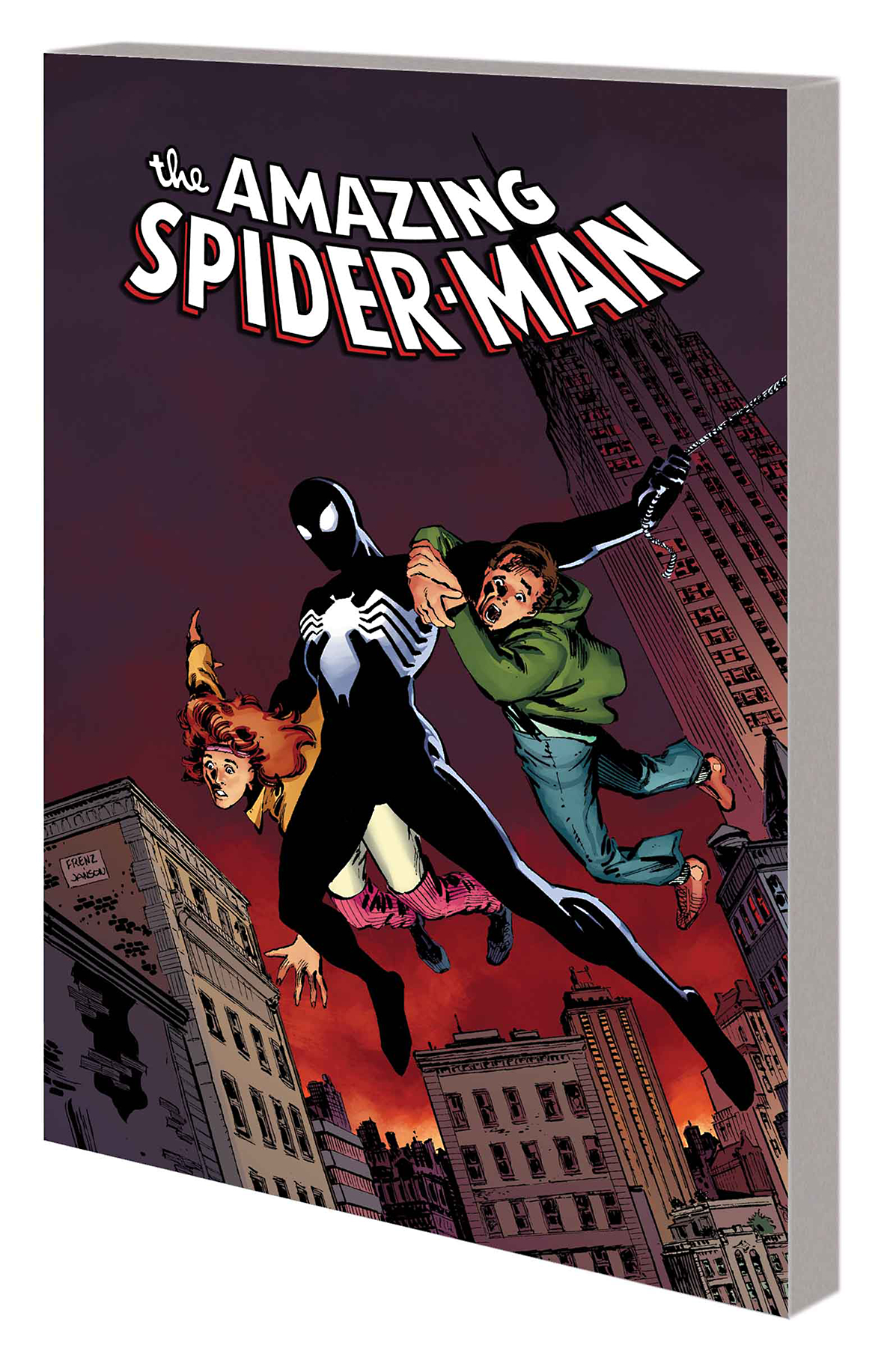 SPIDER-MAN COMPLETE ALIEN COSTUME SAGA TP BOOK 01