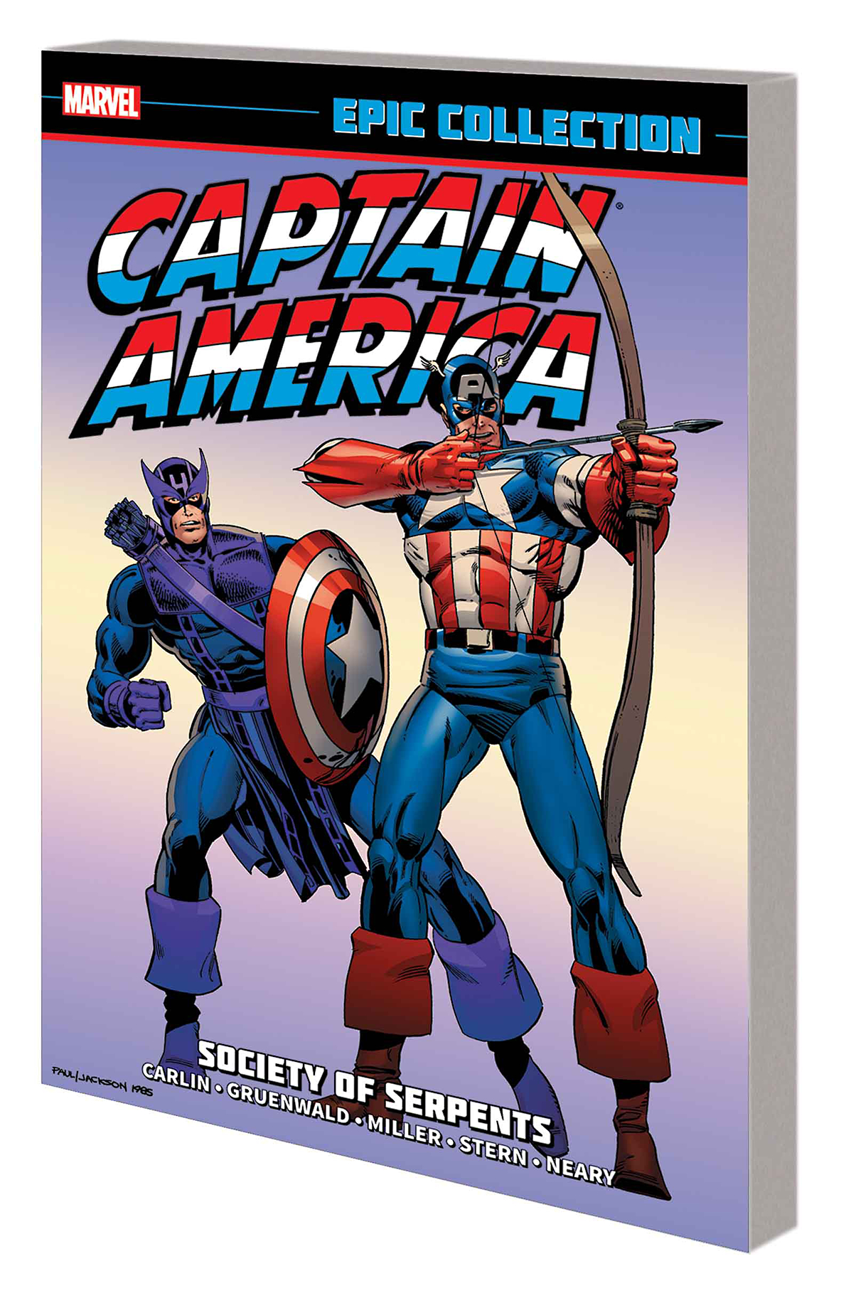 CAPTAIN AMERICA EPIC COLLECTION TP SOCIETY OF SERPENTS