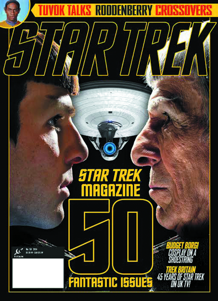 STAR TREK MAGAZINE #50 NEWSSTAND ED