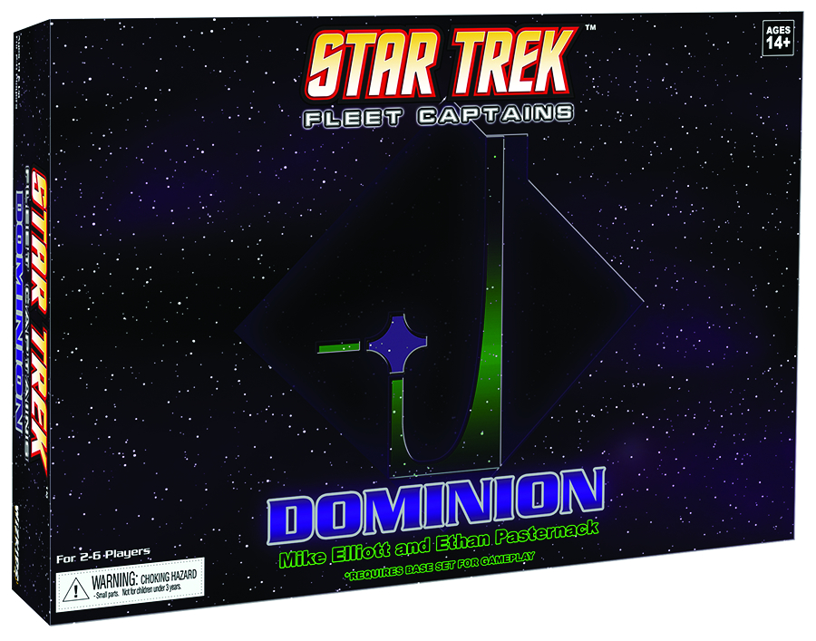STAR TREK FLEET CAPTAINS DOMINION EXP