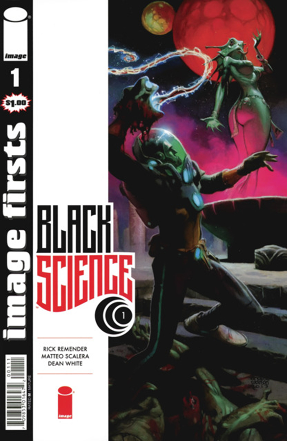 IMAGE FIRSTS BLACK SCIENCE #1 (O/A) (MR)