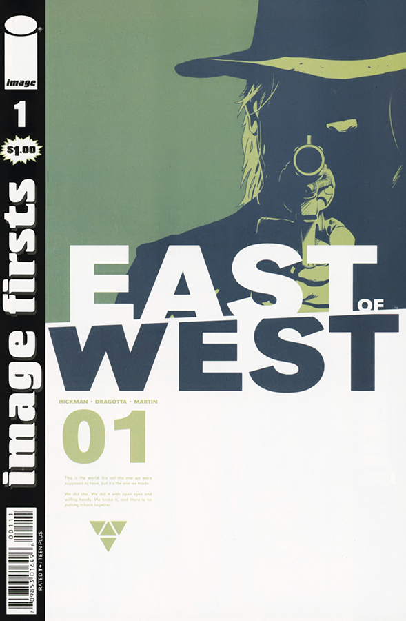 IMAGE FIRSTS EAST OF WEST #1