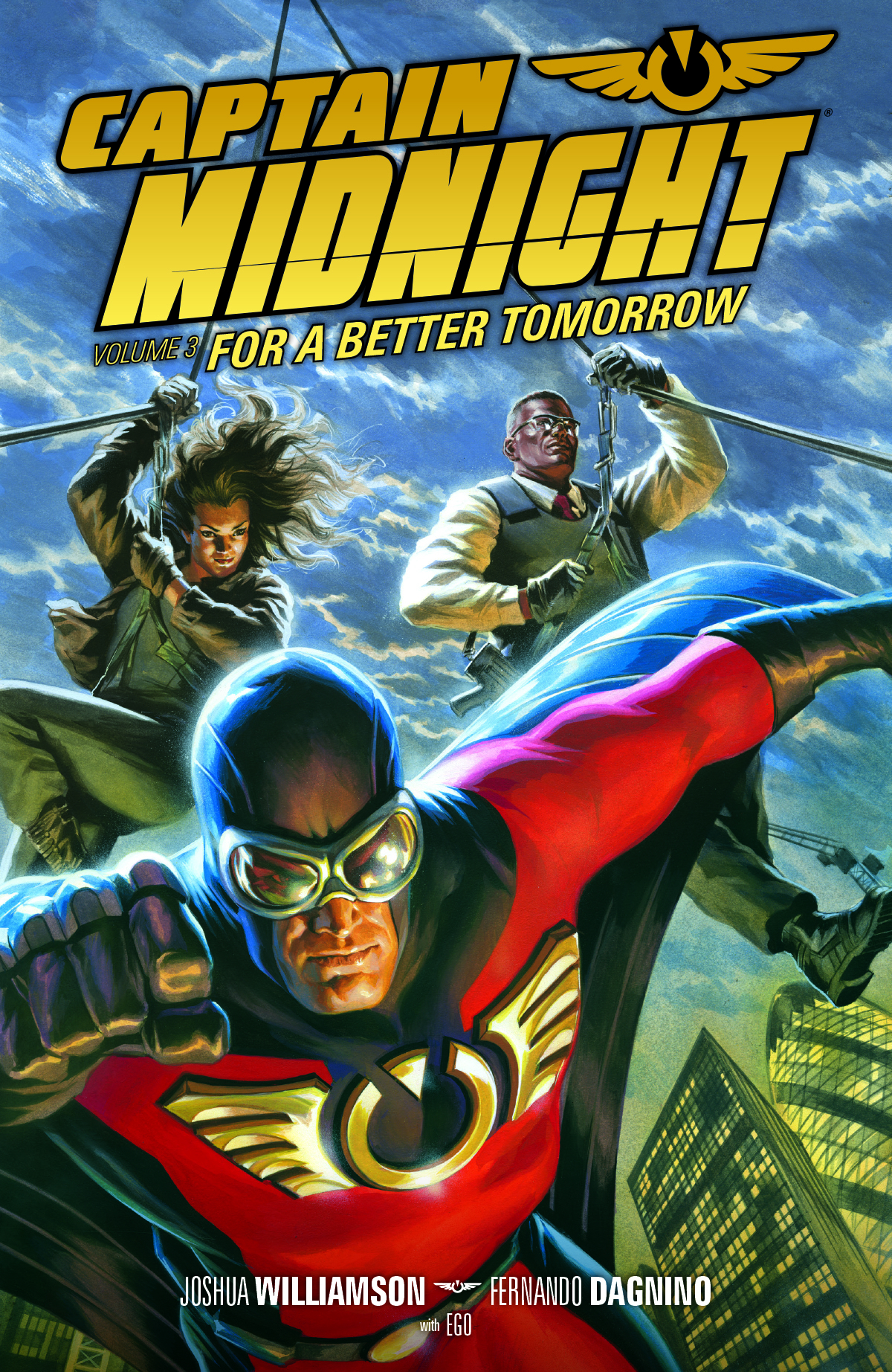 CAPTAIN MIDNIGHT TP VOL 03 BETTER TOMORROW