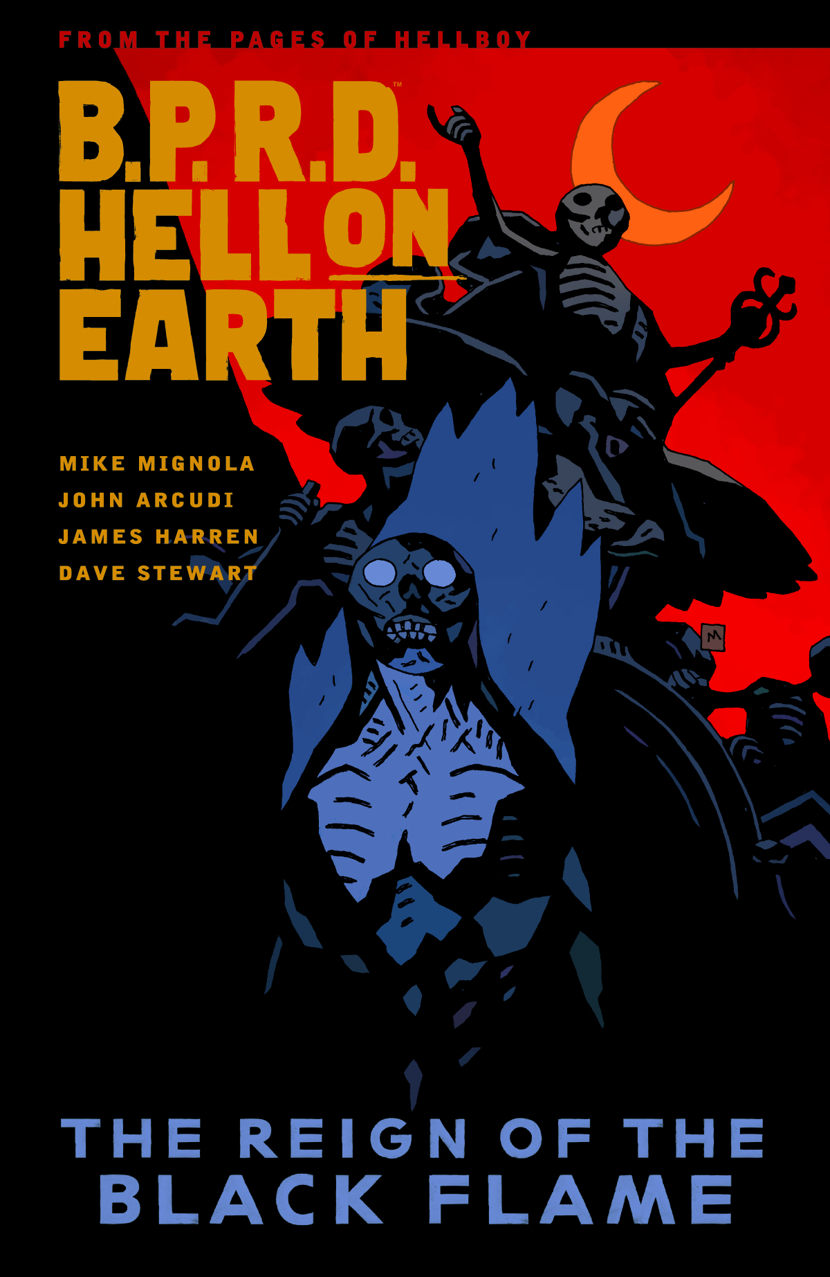 BPRD HELL ON EARTH TP VOL 09 REIGN OF BLACK FLAME (MAY140026