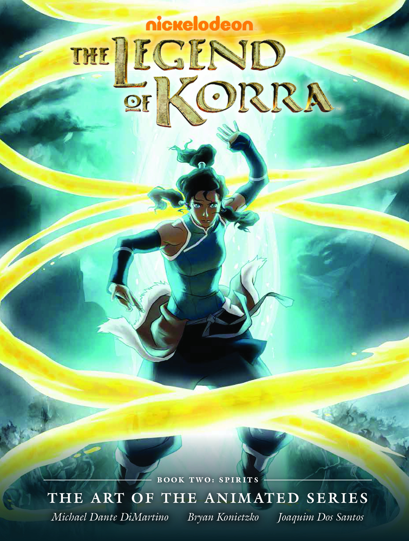 LEGEND KORRA ART ANIMATED SERIES HC BOOK 02 SPIRITS