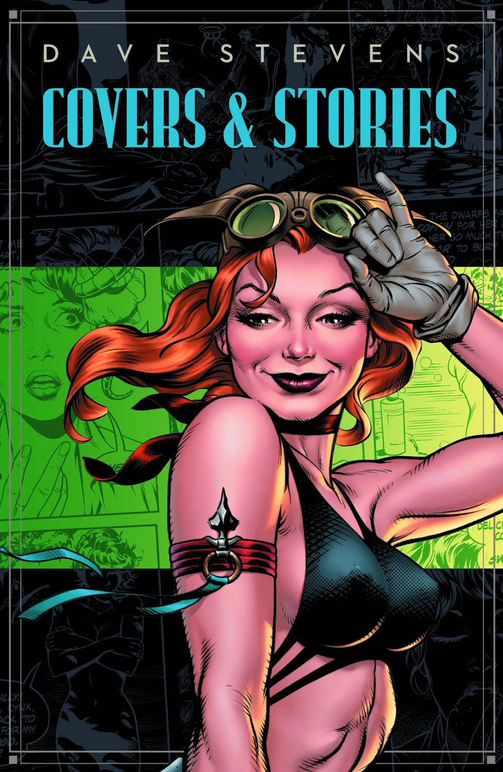 DAVE STEVENS STORIES & COVERS HC SDCC 2012 VAR