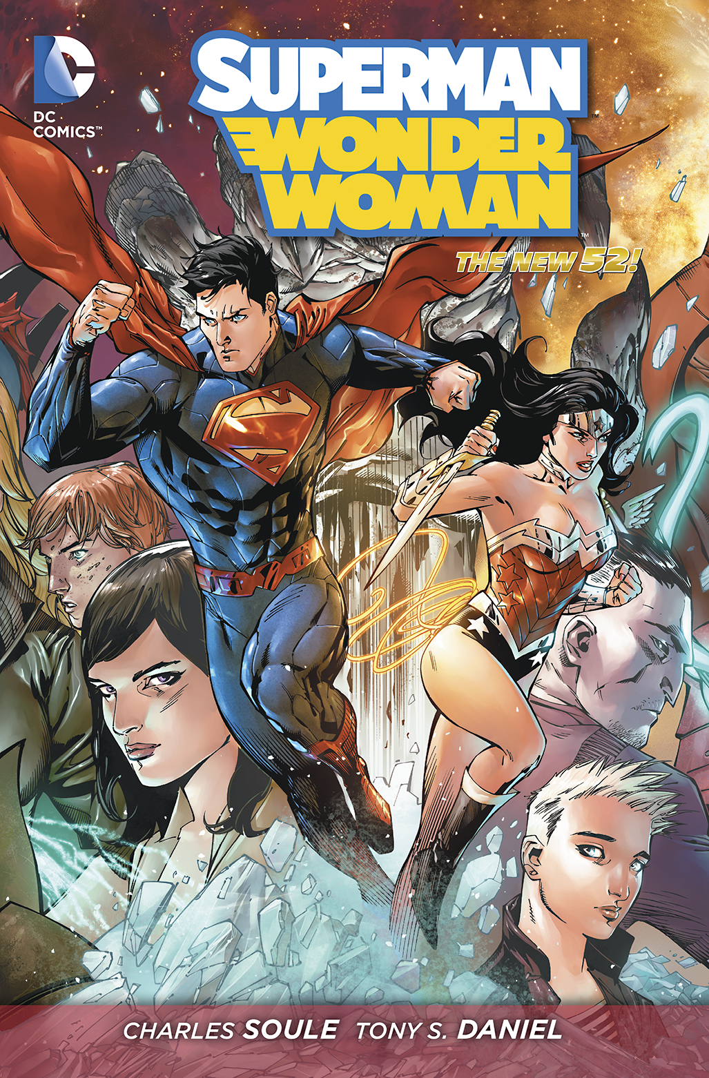SUPERMAN WONDER WOMAN HC VOL 01 POWER COUPLE
