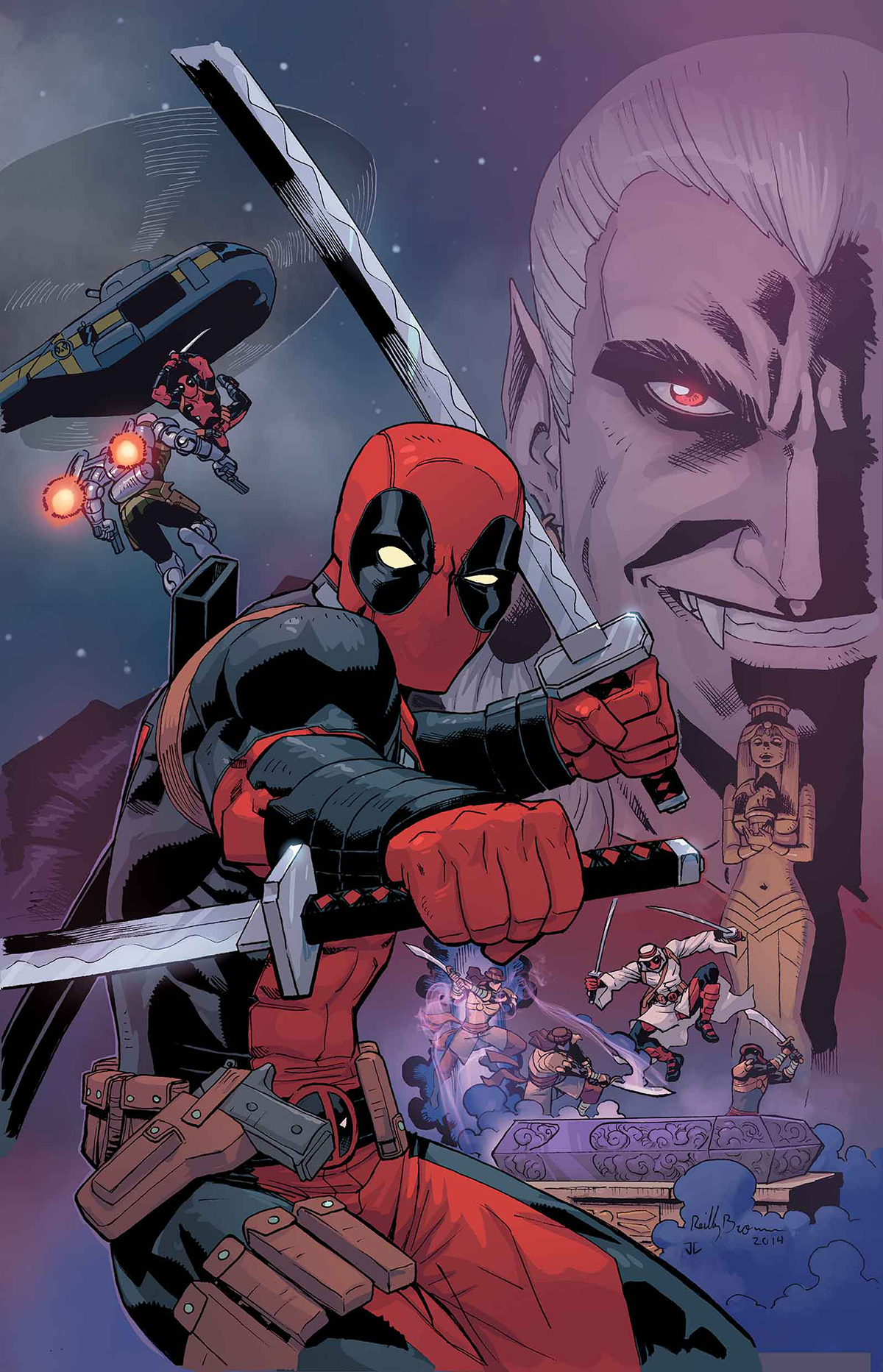 DEADPOOL DRACULAS GAUNTLET #4