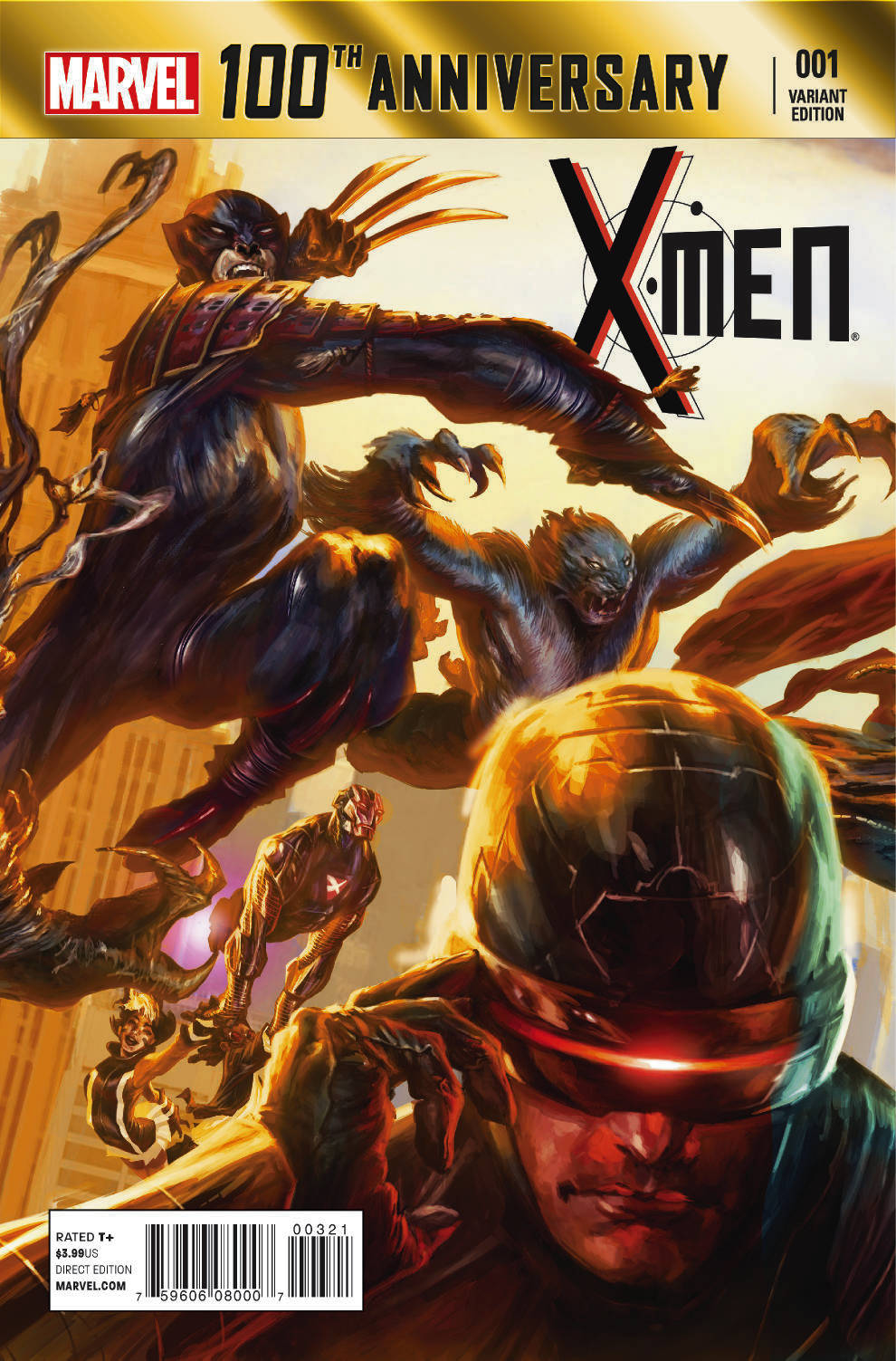100TH ANNIVERSARY SPECIAL #1 X-MEN LOZANO VAR