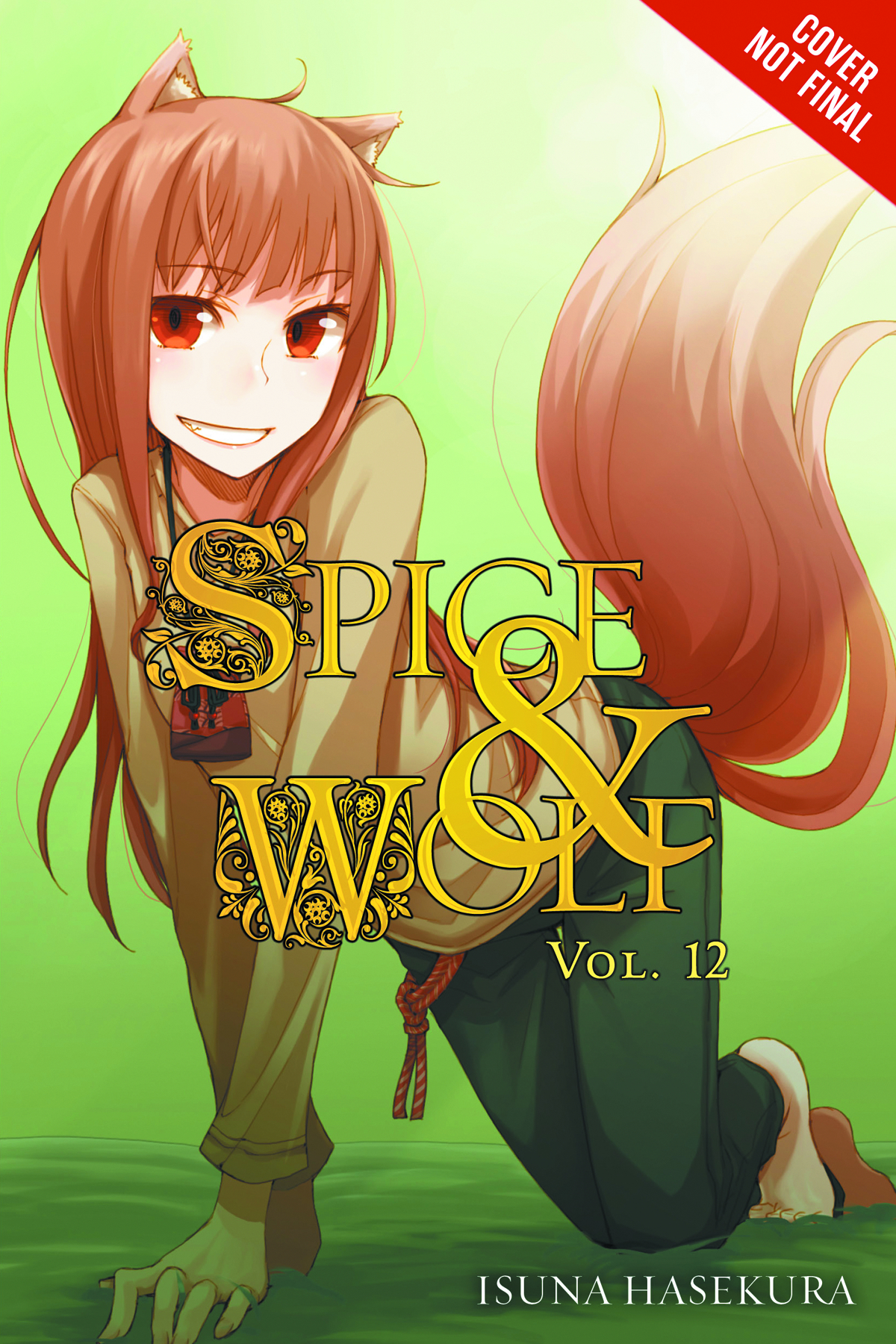 (USE APR179227) SPICE AND WOLF NOVEL VOL 12