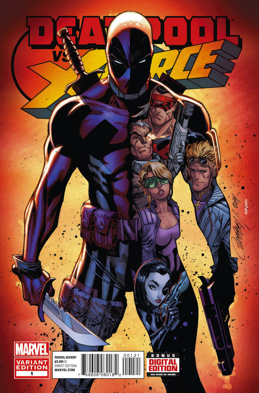 DEADPOOL VS X-FORCE #1