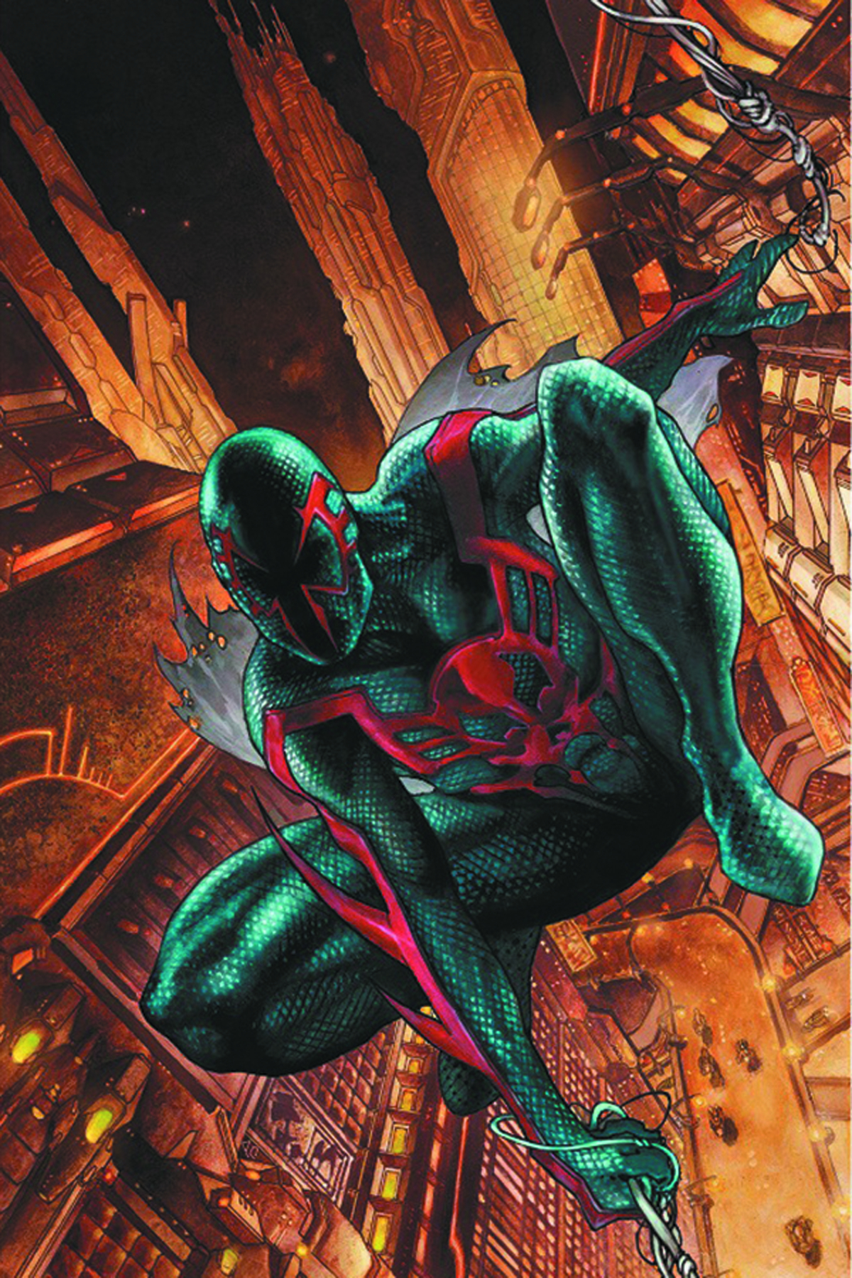 DF SPIDER MAN 2099 #1 PETER DAVID SGN