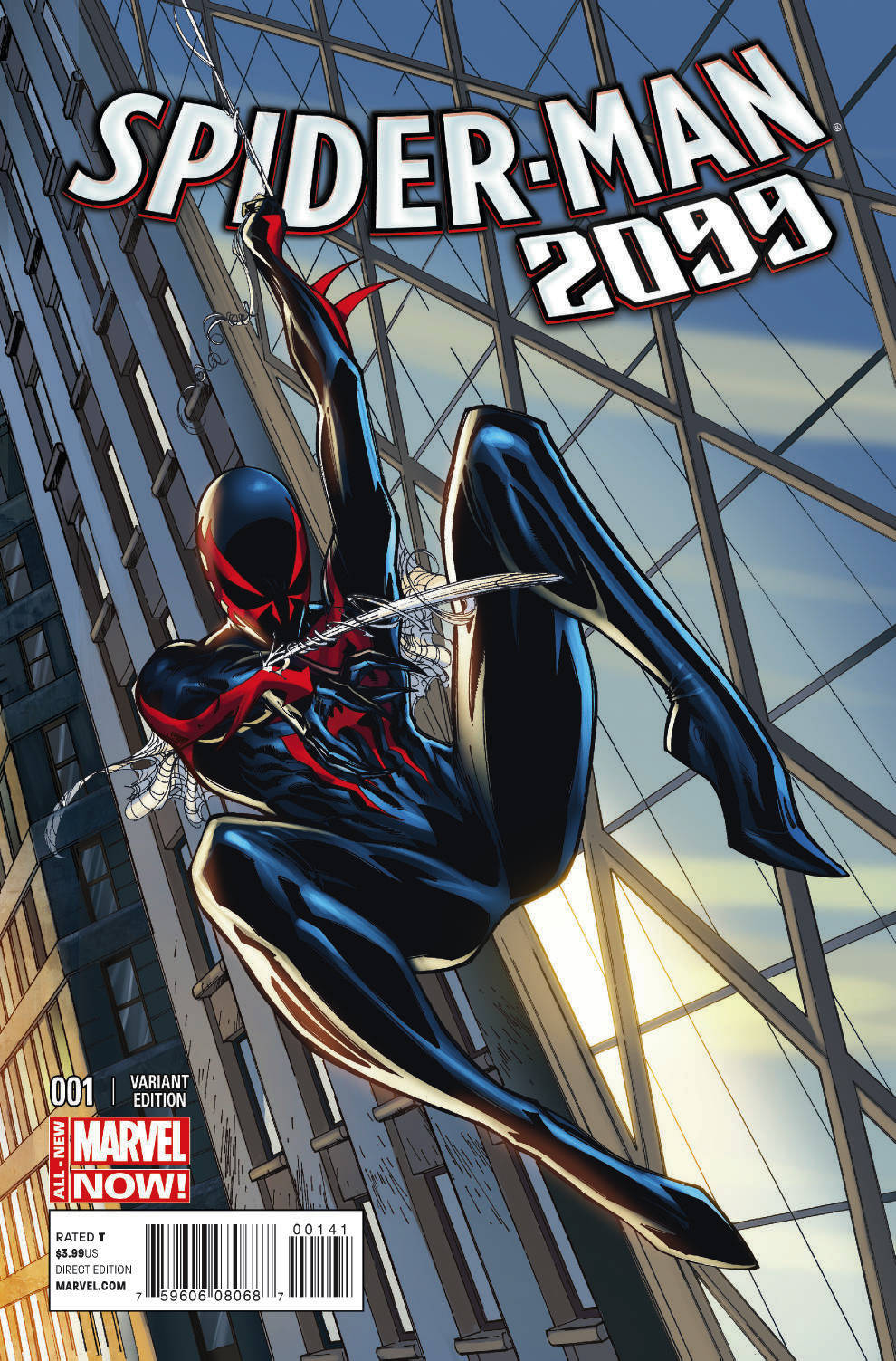 SPIDER-MAN 2099 #1 CAMPBELL CONNECTING C VAR ANMN