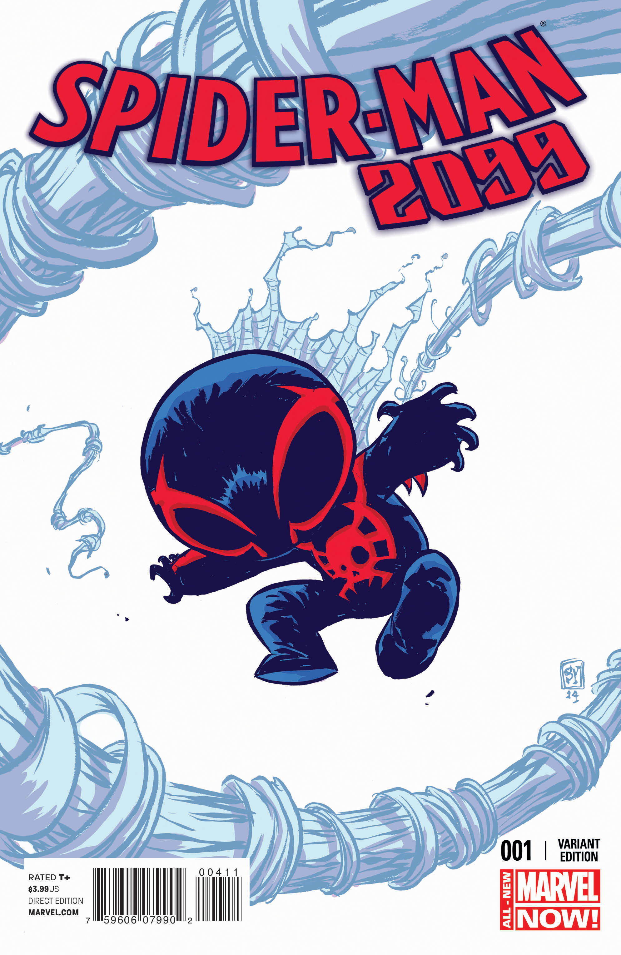 SPIDER-MAN 2099 #1 YOUNG VAR ANMN