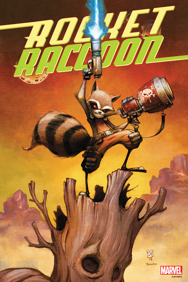 ROCKET RACCOON #1 POSTER