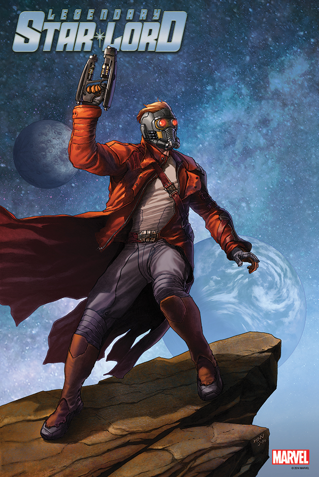LEGENDARY STAR LORD #1 POSTER