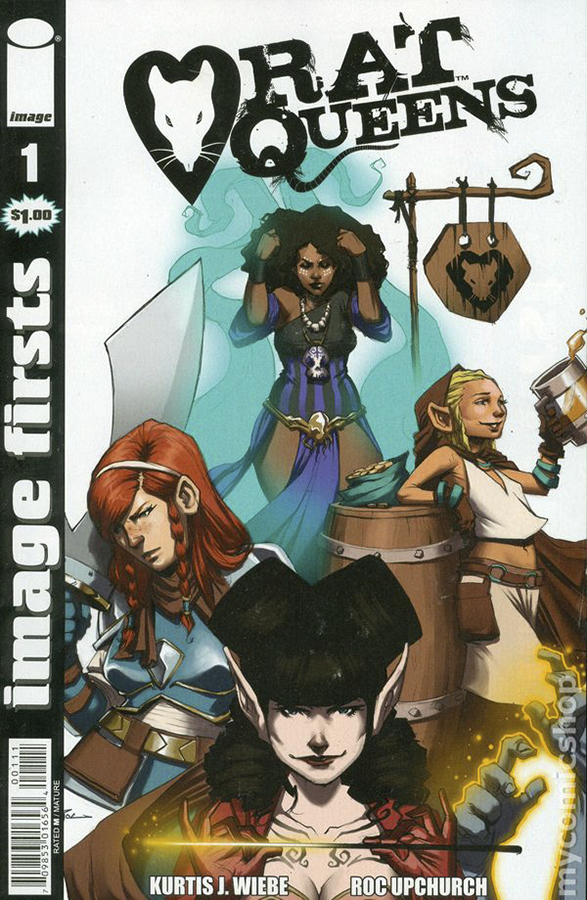 IMAGE FIRSTS RAT QUEENS #1