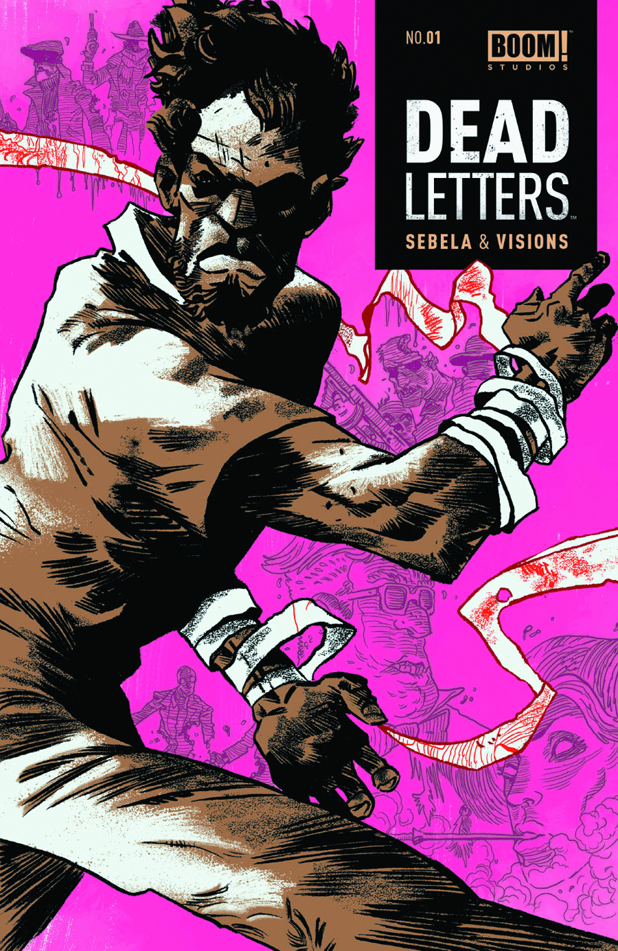 DEAD LETTERS #1 (2ND PTG)