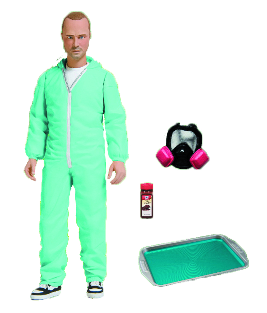 BREAKING BAD JESSE PINKMAN PX BLUE HAZMAT 6-IN AF