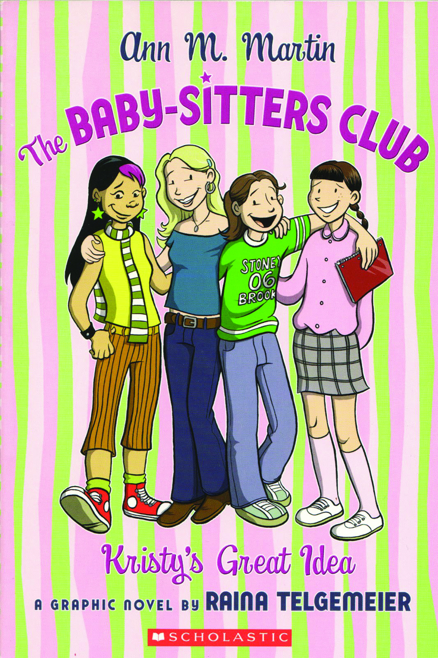 BABY SITTERS CLUB GN VOL 01 KRISTYS GREAT IDEA NEW PTG