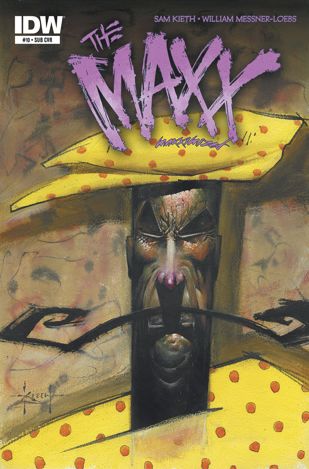 MAXX MAXXIMIZED #10 SUBSCRIPTION VAR