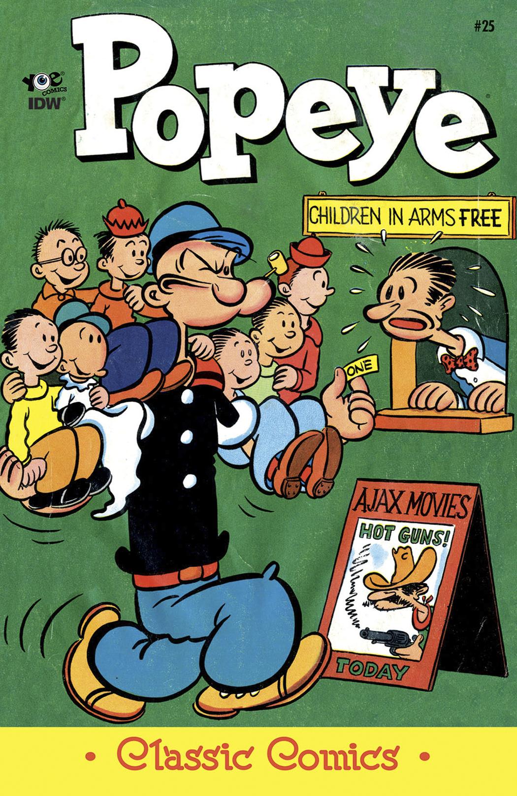 POPEYE CLASSICS ONGOING #25