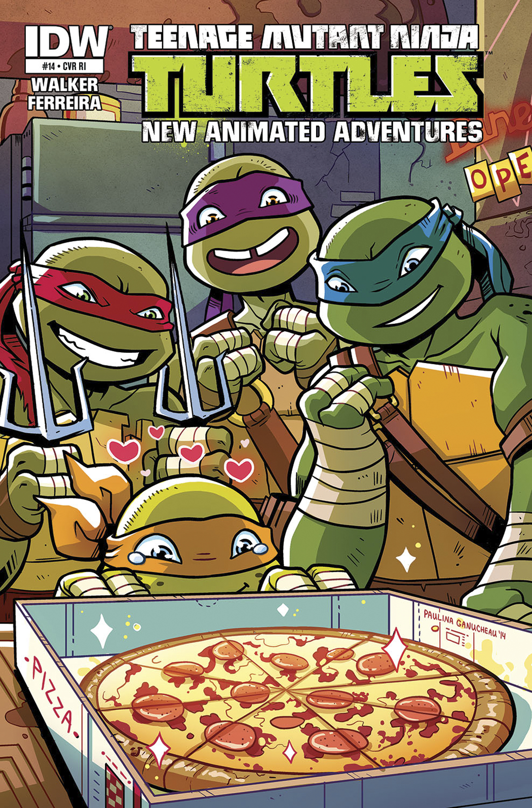 TMNT NEW ANIMATED ADVENTURES #14