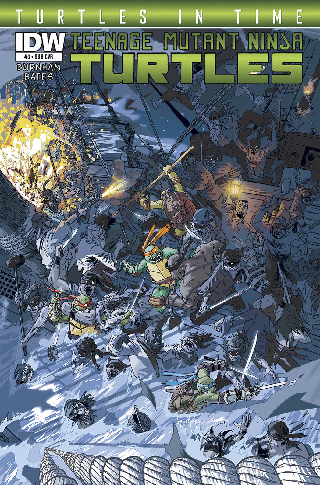 TMNT TURTLES IN TIME #3