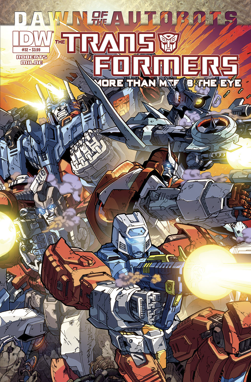 TRANSFORMERS MORE THAN MEETS EYE #32 10 COPY INCV