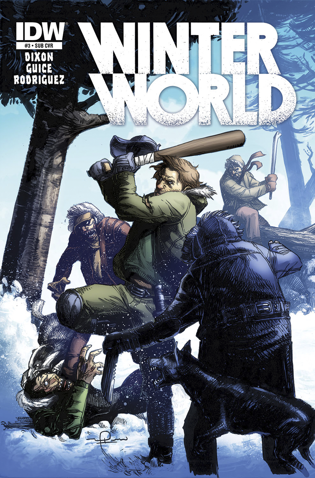 WINTERWORLD #3 SUBSCRIPTION VAR