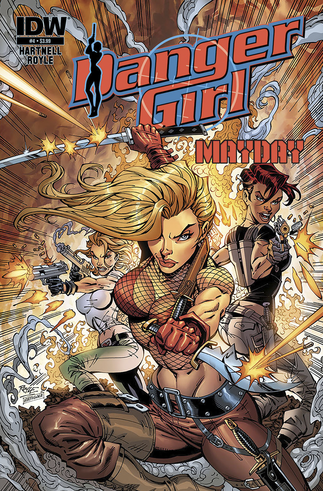 DANGER GIRL MAYDAY #4