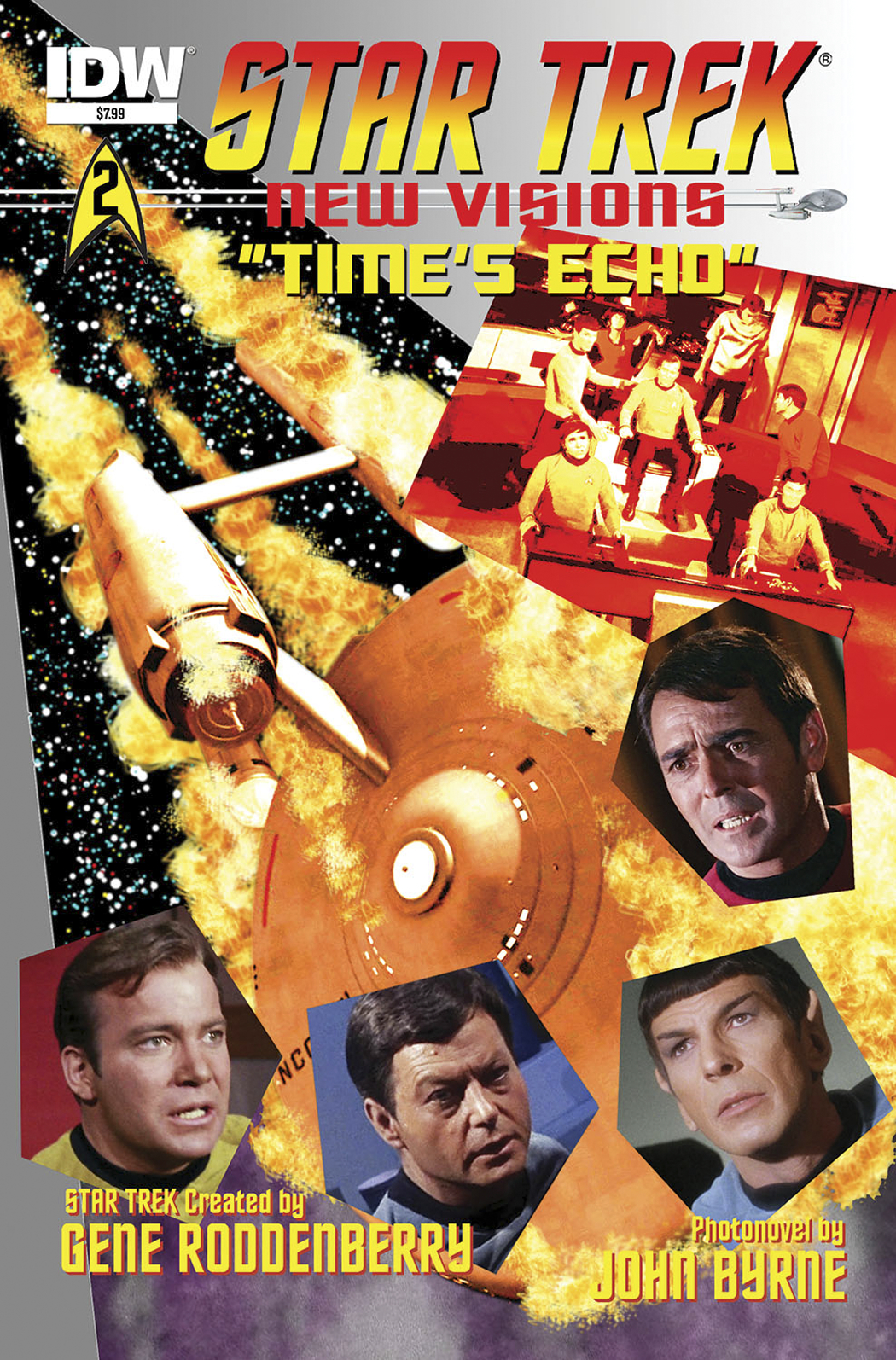 STAR TREK NEW VISIONS TIMES ECHO