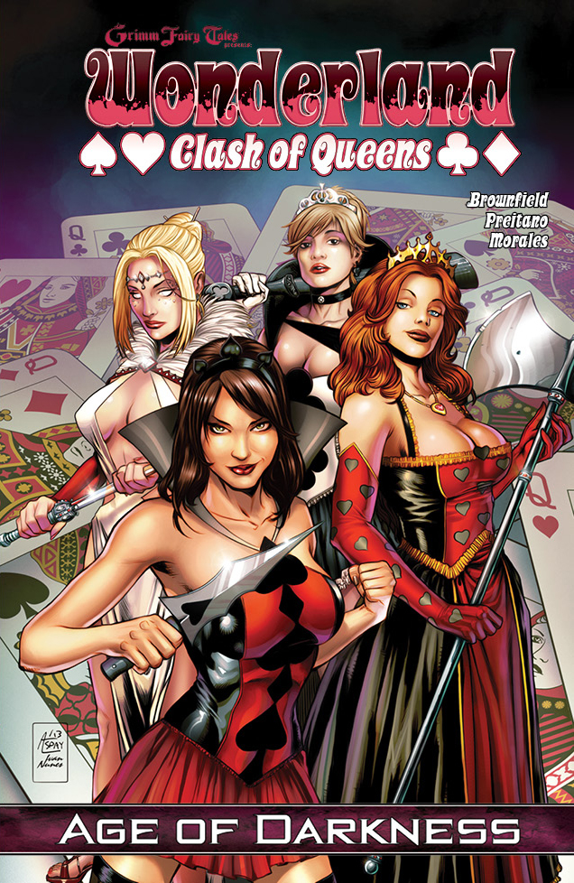 GFT WONDERLAND CLASH OF QUEENS TP