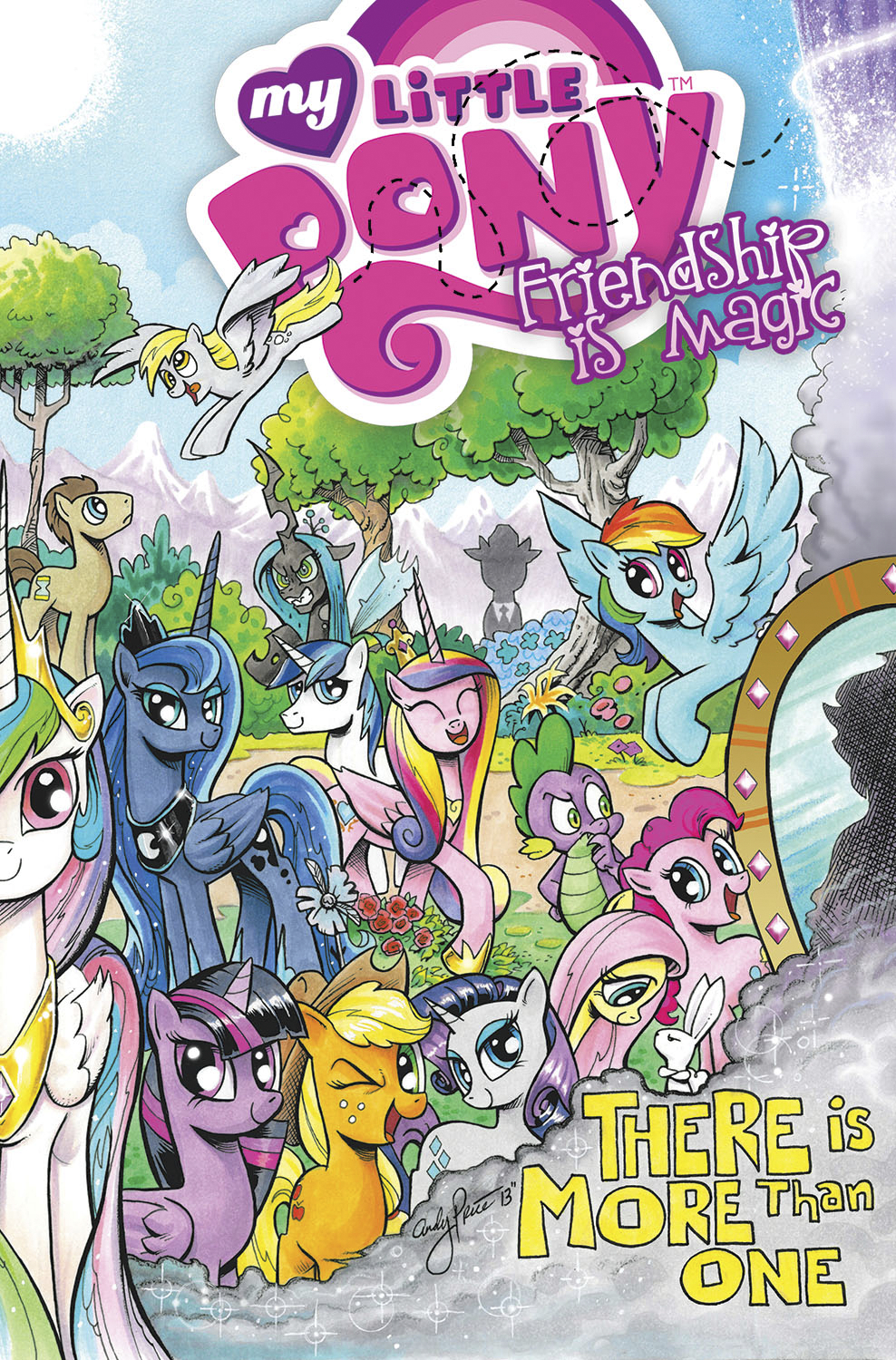 MY LITTLE PONY FRIENDSHIP IS MAGIC TP VOL 05