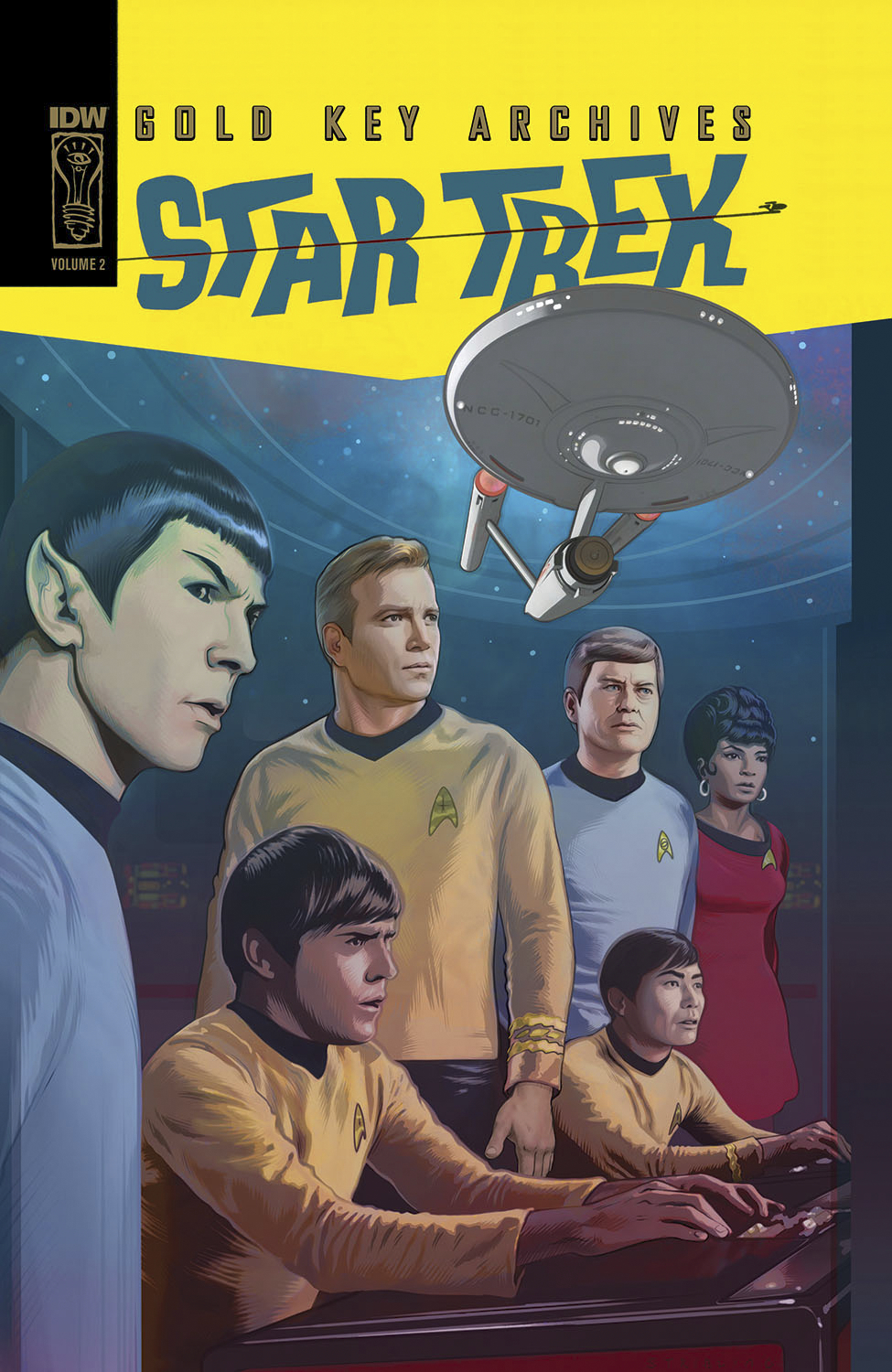 STAR TREK GOLD KEY ARCHIVES HC VOL 02