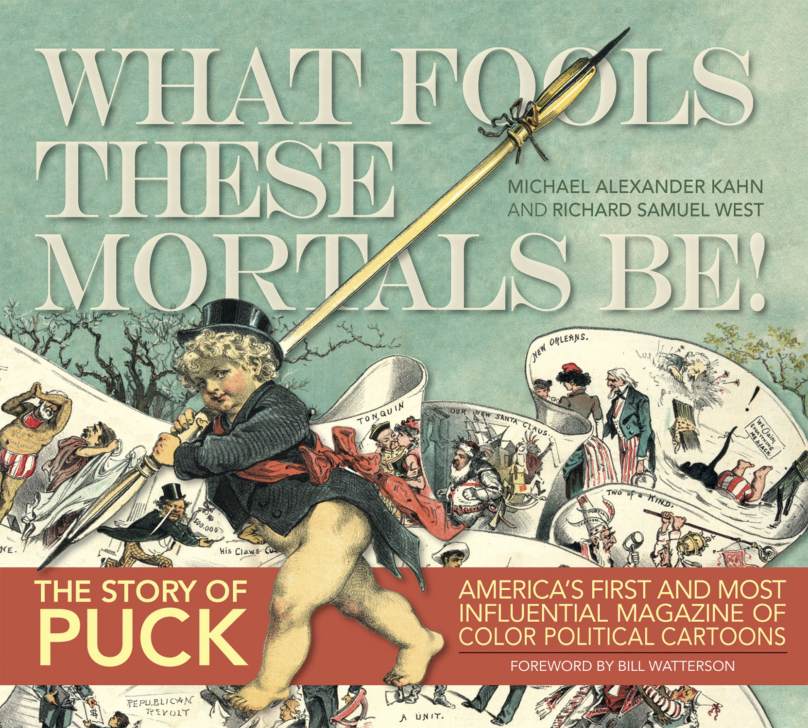 PUCK WHAT FOOLS THESE MORTALS BE HC
