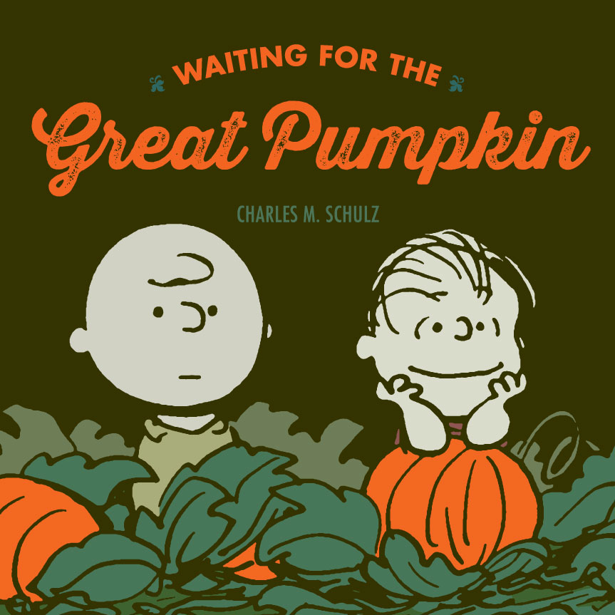 PEANUTS WAITING FOR GREAT PUMPKIN HC