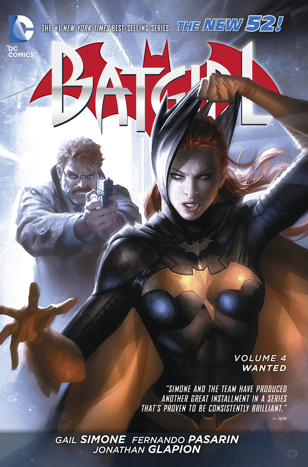 BATGIRL TP VOL 04 WANTED