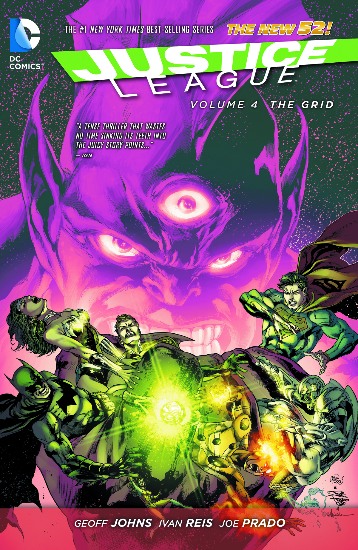JUSTICE LEAGUE TP VOL 04 THE GRID
