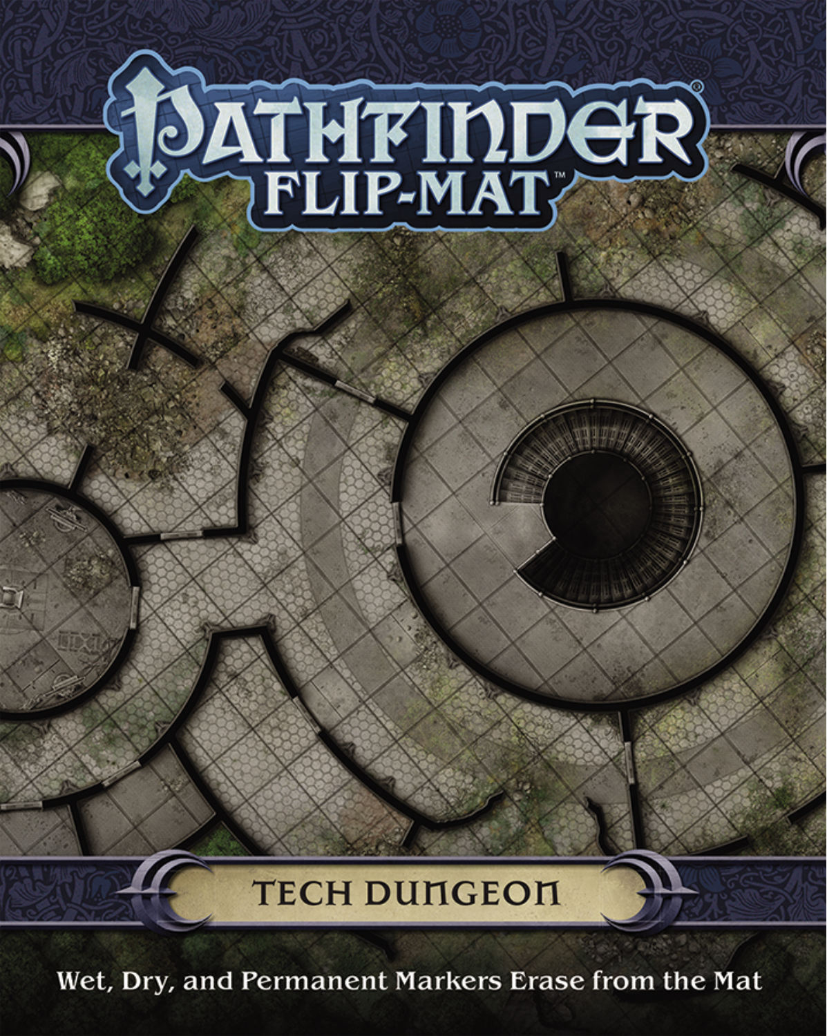 PATHFINDER FLIP-MAT: TECH DUNGEON