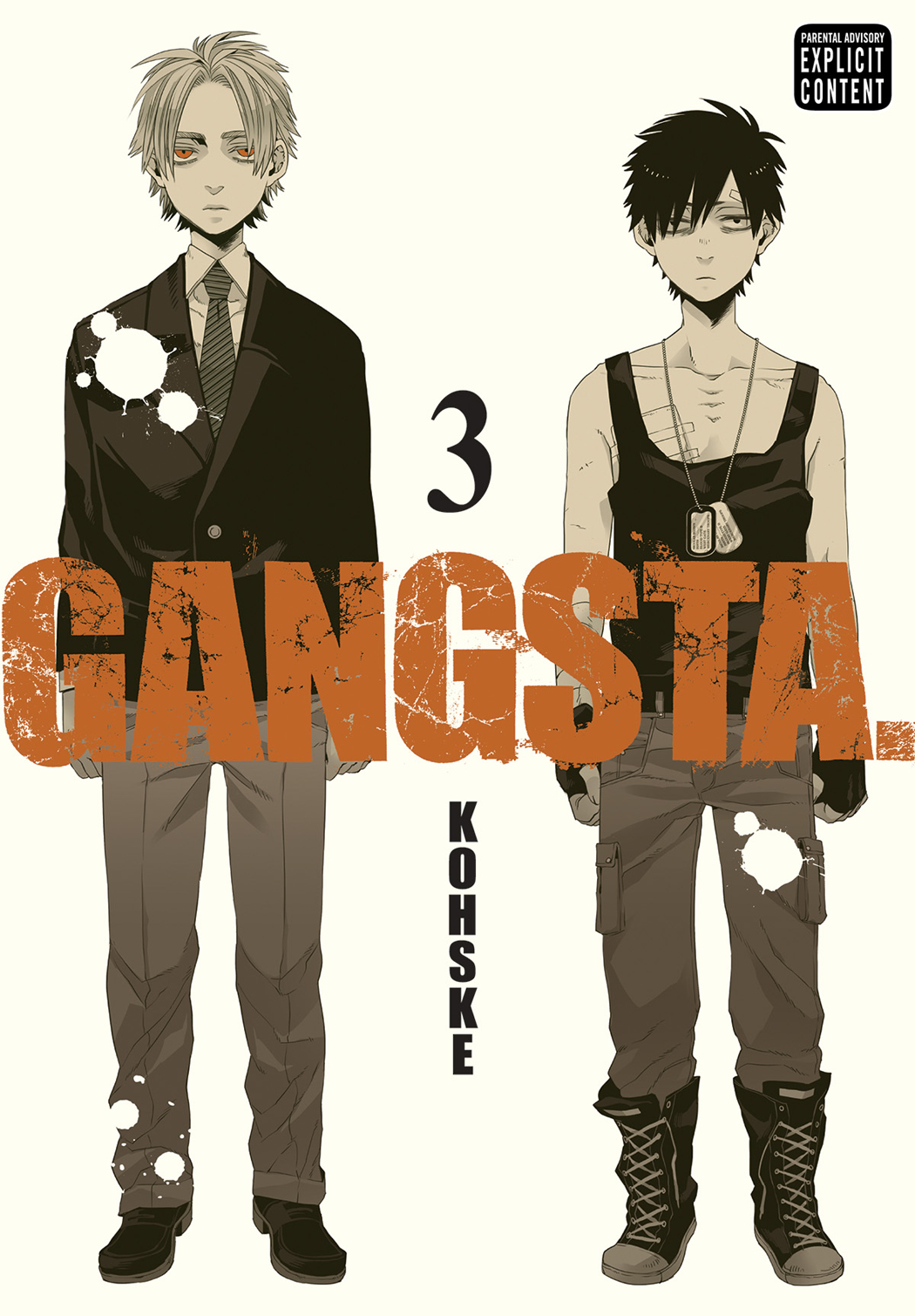 GANGSTA GN VOL 03