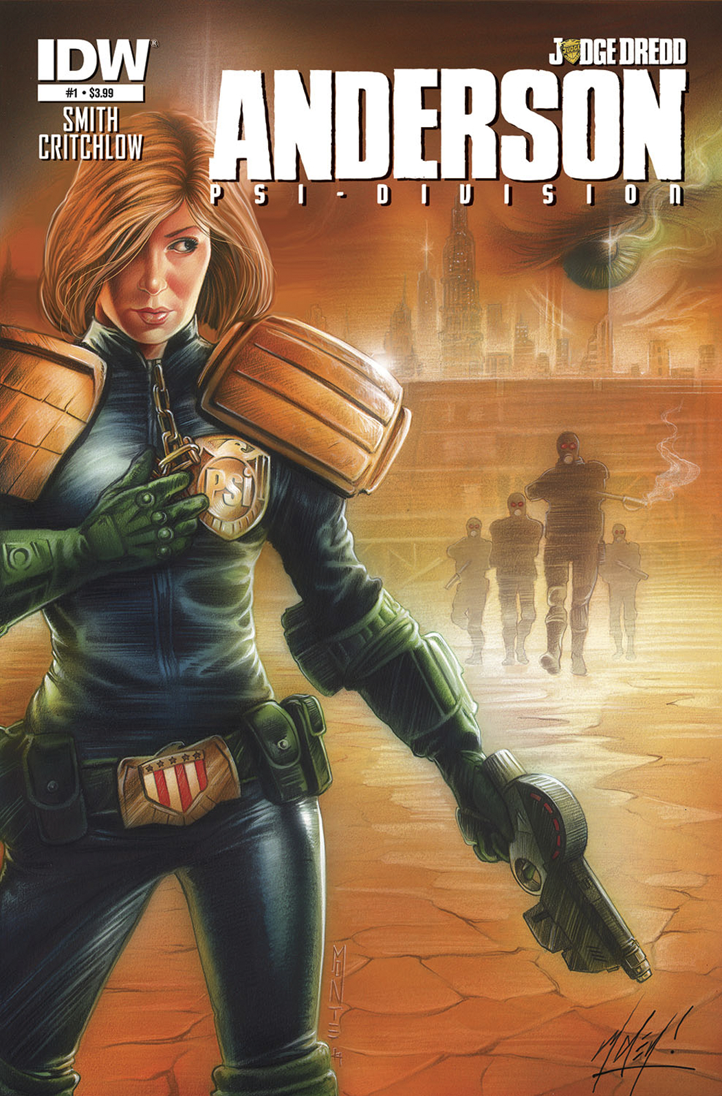 JUDGE DREDD ANDERSON PSI DIVISION #1