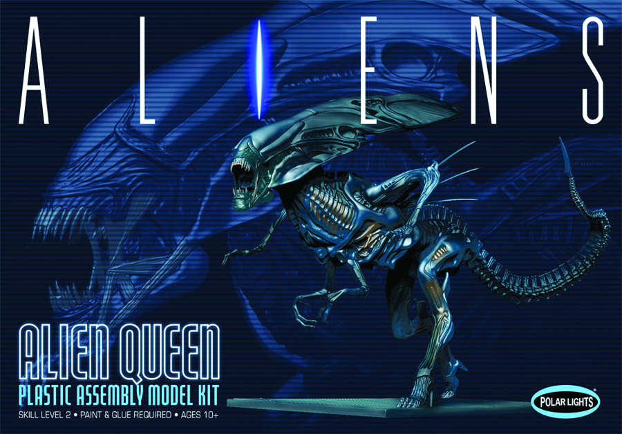 ALIENS 1/9 SCALE ALIEN QUEEN MODEL KIT