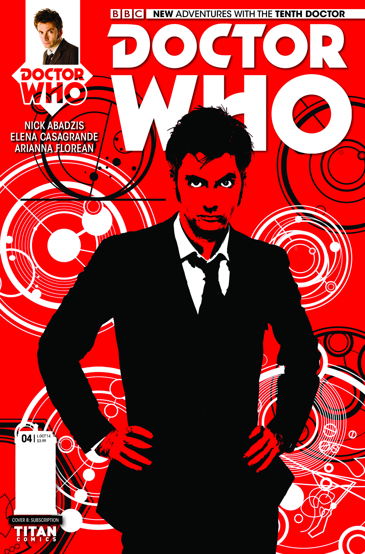 DOCTOR WHO 10TH #4 SUBSCRIPTION PHOTO