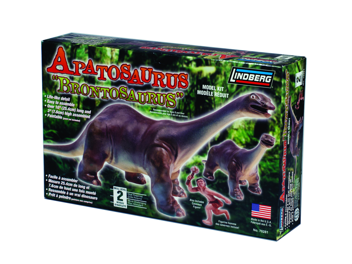 LINDBERG APATOSAURUS MODEL KIT