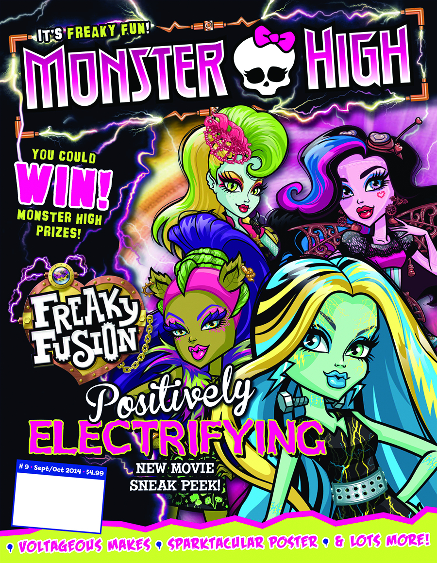 MONSTER HIGH MAGAZINE #9