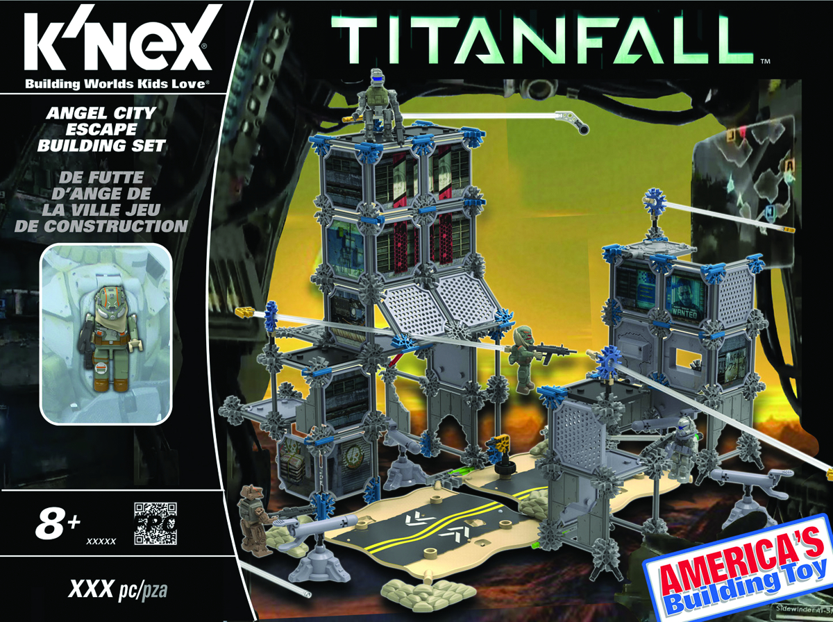 KNEX TITANFALL ANGEL CITY ESCAPE BUILDING SET