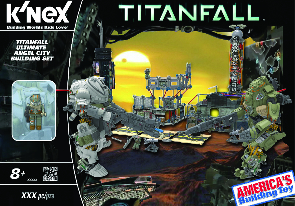KNEX TITANFALL ULT ANGEL CITY CAMPAIGN BUILDING SET