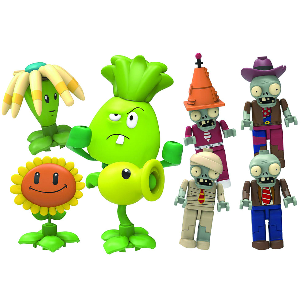 KNEX PLANTS VS ZOMBIES MYSTERY FIGS SER 1 BMB DIS
